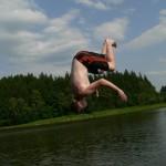 Počátky - skoky do vody