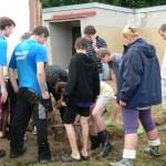 Počátky - příprava táboráku